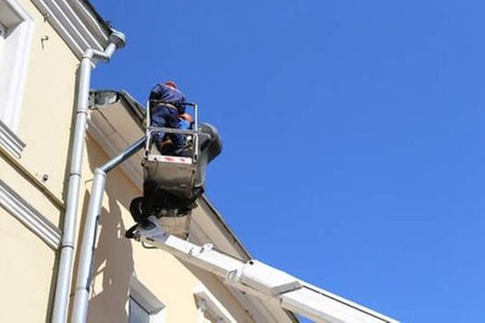 Professional roof replacement contractors.